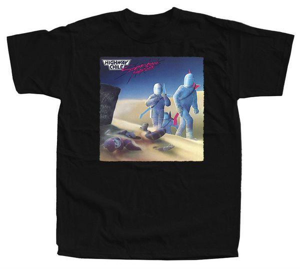 HIGHWAY CHILE Storybook Heroes T-Shirt (Black, bottle green, steel blue) S-5XL 100% Cotton Short Sleeve Summer T-Shirt