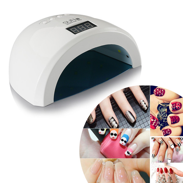 48W Sun1s Mini UV LED Lamp Nail Dryer Machine Manicure Curing All ...