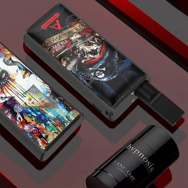 Kalın Yağ Vape Kartuşları 3.7V 650mAh Pil 10 Renkler Ücretsiz kargo ile Yeni Henrui Alameda Vape Mod Setleri E Sigaralar