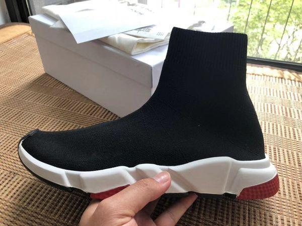 Sapatas da forma Sock Shoes Speed Shoes mulheres botas Sneakers sapatos de grife Trainer s Meias Race Runners sapato preto homem mulher sapato sapato velho