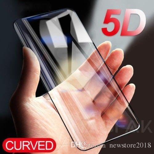 Details about 5D Curved Full Cover Tempered Glass Screen Protector Film for iPhone 6 7 8 X wholesales price