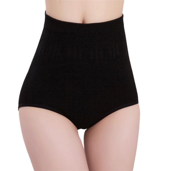25PCS / LOT SINGYOU High Waist Slim Panty Seamless Cotton Pure Underwear Body Shaper Panties Solid Color Women Intimates Briefs