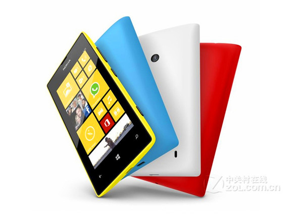 2016 Direct Selling New Arrival Wholesale Original Refurbished for Nokia Lumia 520 Mobile Cell Phone Unlocked Gsm Cellphone 30pcs free Dhl