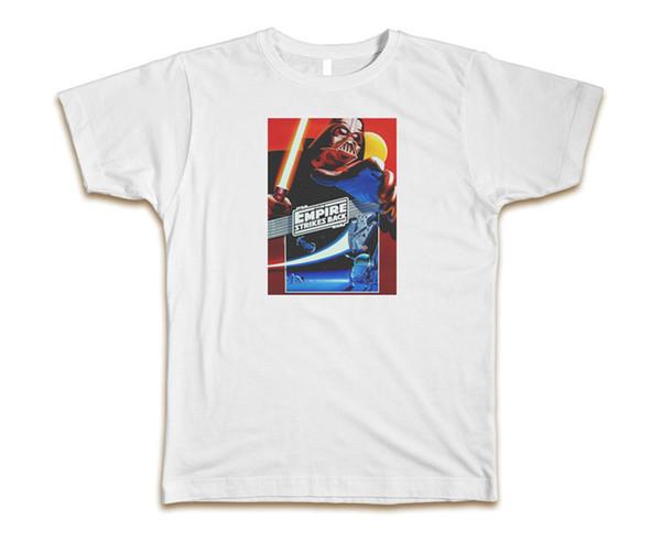 O Império Contra-Ataca Personalizado T-Shirt Dos Homens T S-3XL Novo-WhiteSummer Estilo Hip Hop T-Shirt Dos Homens Tops