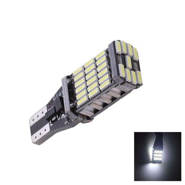 T15 W16W 921 45 SMD LED 4014 Car Auto Canbus No Error Marker Lamps Reading Light Interior Lighting Bulb White