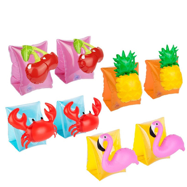 Infant Inflatable Swim Ring Baby swim neck Float Laps Baby Swimming Learning Ring Swimming pool accessories T1I279