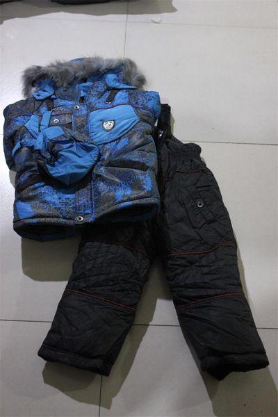 SALE!! Fleeced Winter Ski Suit Kids windproof waterproof ski jackets pant Children Snowsuit boys girls snow skiing Clothing