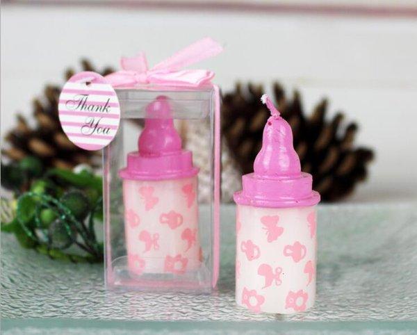 Розовая бутылка