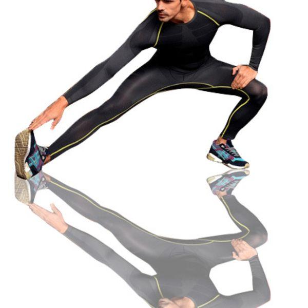 Screaming Retail Price Men's Fitness Compression GYM Training Skin Base Layer Long Leggings Tight