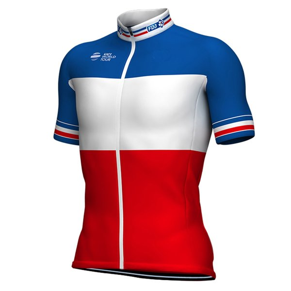 b71d98add 2018 GROUPAMA FDJ PRO TEAM 2 COLORS ONLY SHORT SLEEVE ROPA CICLISMO SHIRT  CYCLING JERSEY CYCLING