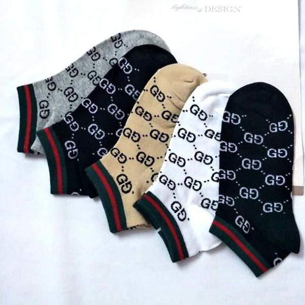 Heißer Verkauf Männer Socken Flut Marke Brief Drucken Weiche Atmungsaktive Männliche Socken Straße Unisex Baumwollsocken