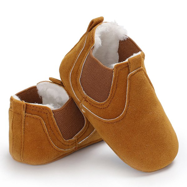 2018 Baby Shoes Boy Girls Soft Sole Anti-Slip Warm Snow Boots Toddler Prewalker Bootie For Winter drop Shipping