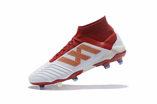 53efc96a3 With Bag  Predator 18+ 18.1 FG Soccer Cleats Chaussures De Football Boots  Mens High