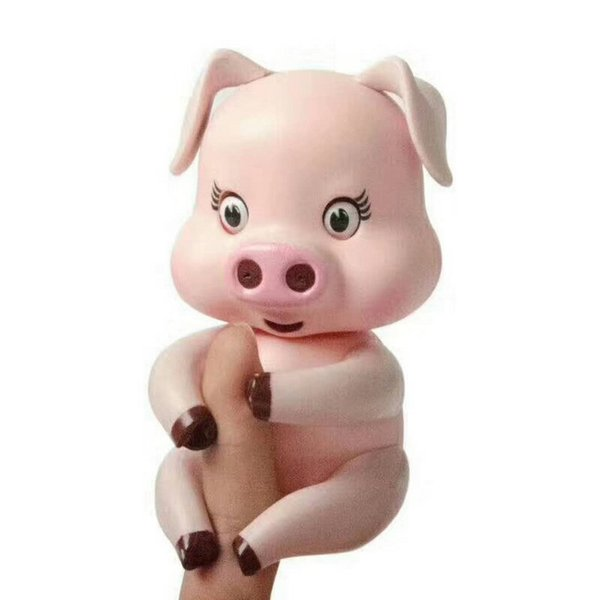 top popular Smart induction finger pig finger toy cute piggy Decompression toys 2020