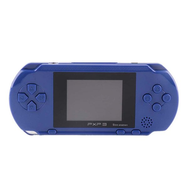 New PXP3 Handheld Game Console 16 Bit Portable Classic Games Console 2.7 Inch Pocket Gaming Player 5 Color Kids Game Player Free Shipping