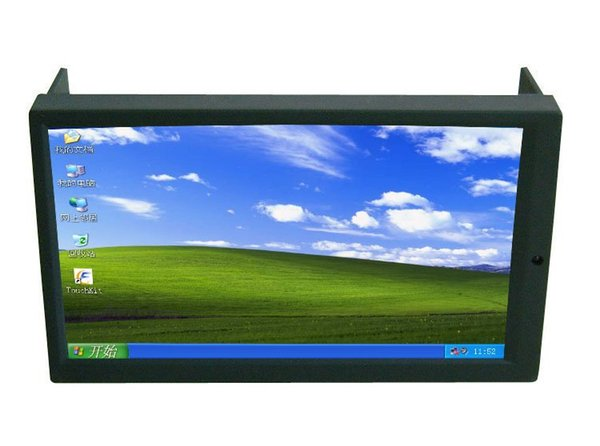 7 Inch Double DIN Touch Screen Monitor for Car PC , 2 DIN Industrial pc display , Pos monitor , Indash monitor