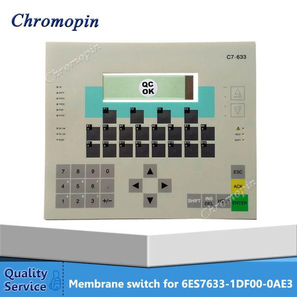 NEW SIMATIC 6ES7633-2BF02-0AE3 HMI PLC Мембранная клавиатура Используется для ремонта машины