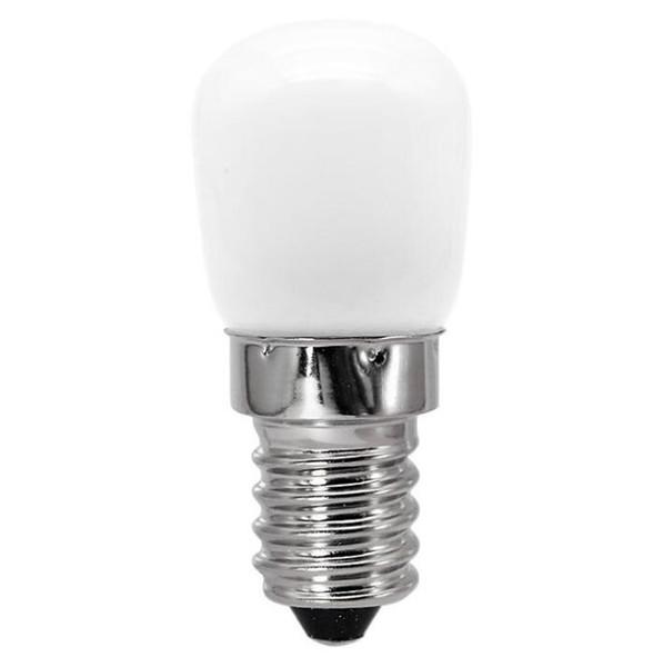 E14 lamp ceramic milk white glass cover bulb led energy-saving refrigerator lamp screw bulb Lighting Bulbs