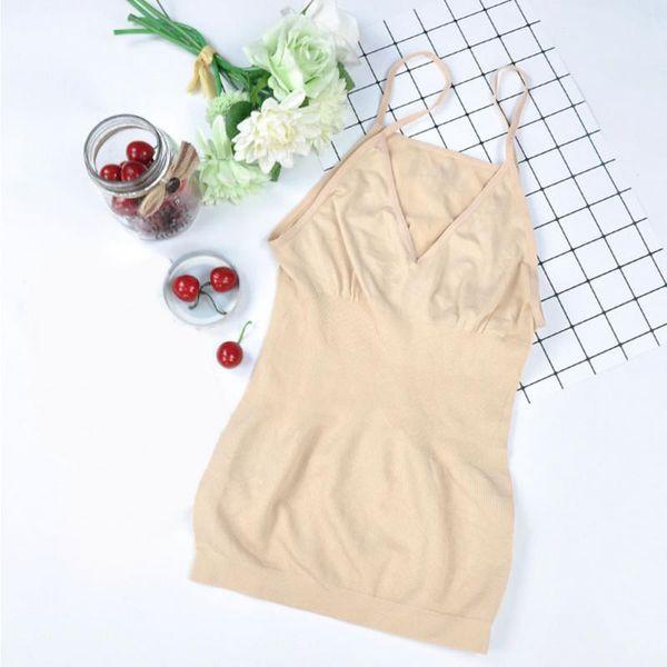 Women Slimming Tank Top Tummy Control Seamless Vest Cami Shaper Body ShapeWear