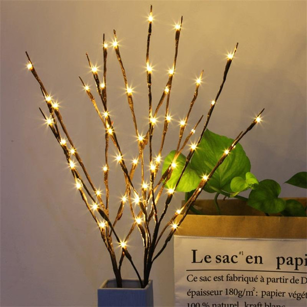 Home Decor Branch Light Popular Christmas Party Garden Romantic Lamp Novelty Items Led Willow Exquisite Lights Lightweight 8 8mt ff