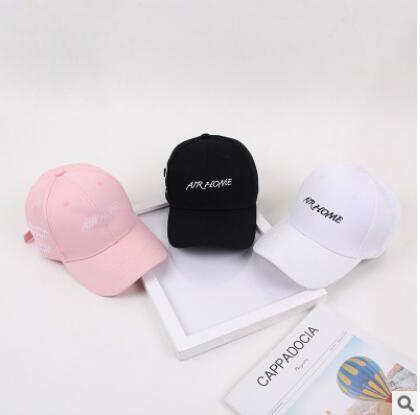 Hat ladies Korean embroidered cap baseball hat accessories fashion hats men and women couple cute generous