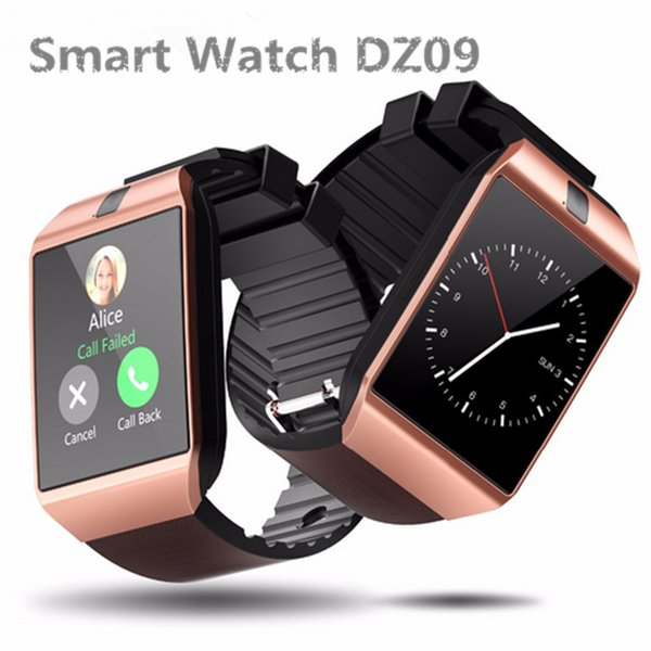 DZ09 Bluetooth Smart Watch Relogio Android Smartwatch Phone Call SIM TF Camera Men Women Fahion Watch for IOS iPhone Samsung HUAWEI