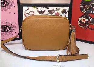 Hot sale new style women fashion luxury Brand handbag genuine leather high quality shoulder bags totes purse disco Cross Body 308364