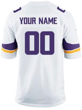reputable site 6e2e3 c97f6 2018 Personalized American Football Jerseys Green Minnesota Bay Vikings  Packers Bears Lions Custom Salute To Service Color Rush Jersey 2018 New  From ...