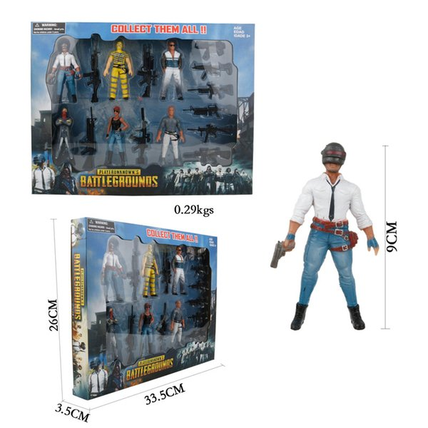 PUBG Playerunknown/'s Battlegrounds Action Figure Modell Boy Spielzeug NEU