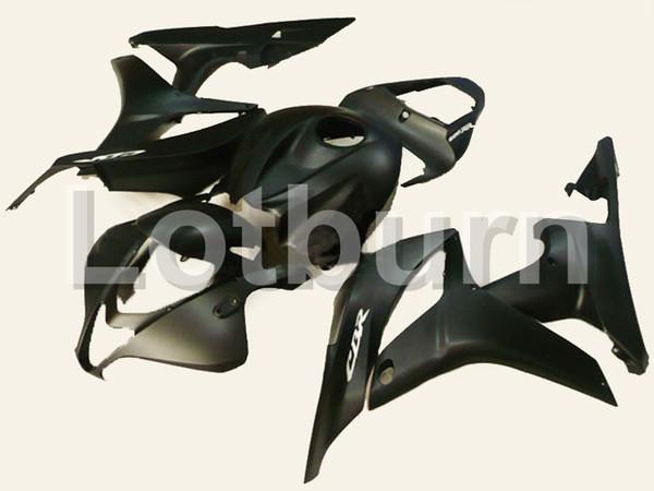 Black Moto Fairing Kit Fit For Honda CBR600RR CBR600 CBR 600 RR 2007 2008 07 08 F5 Fairings Custom Made Motorcycle Bodywork Injection A232