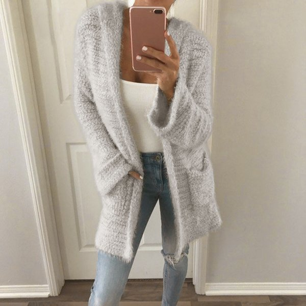 New spring summe 2018 female knit cardigan sweater coat short female a little shawl knitted jacket 6 color