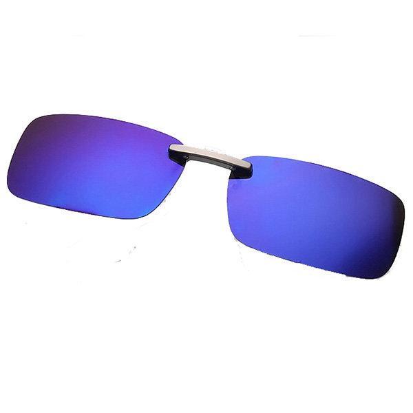 Clip all'ingrosso polarizzata su Sun Glassess Sun Glassess Driving Night Vision Lens per occhiali con montatura in metallo
