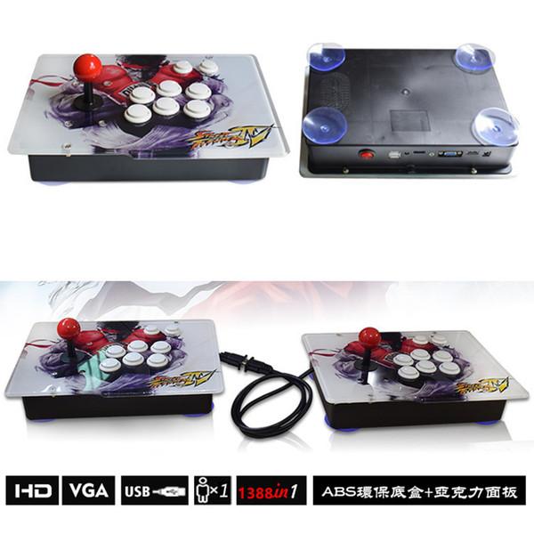 Hot pandora 5S Pode Armazenar 1299 1388 jogo Home Arcade Game Console controle combinação para Monitor de TV Suporte HDMI e Saída VGA