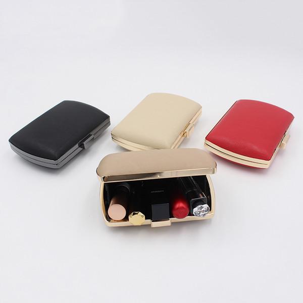 2018 neue modische Luxus Abendtasche hohe Qualität Clutch Taschen Hersteller Direktverkauf Mode elegante Make-up Tasche rot