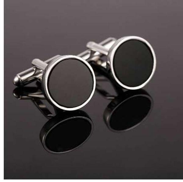 VAGULA Hot Sale Luxury Cufflinks New Cuff link Holiday Cufflings Lawyer Groom Wedding Button 10122