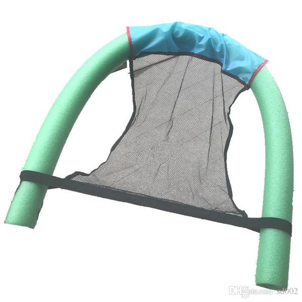 Su geçirmez Yüzme Mesh Sandalye Net Cep Soğutma Yaz Emniyet Ayak Bezleri Bez Kol Yüzen Çubuk Havuzu Parti Malzemeleri 5mj ii
