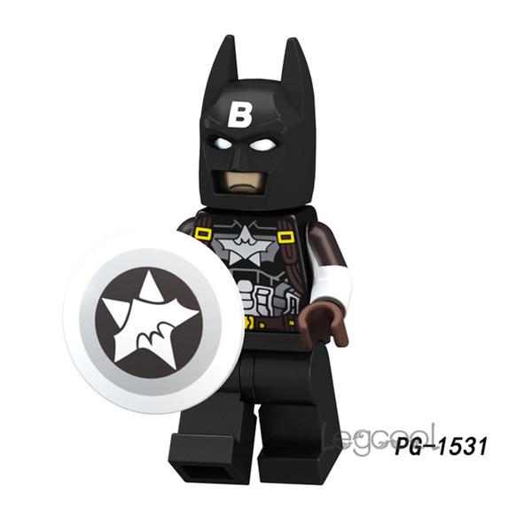 PG1531 DC Super Heroe Building Blocks Titan Joker Marvel Captain America Wild's Batman Skurge Heimdall Superman Over Girl Gift Toys figures