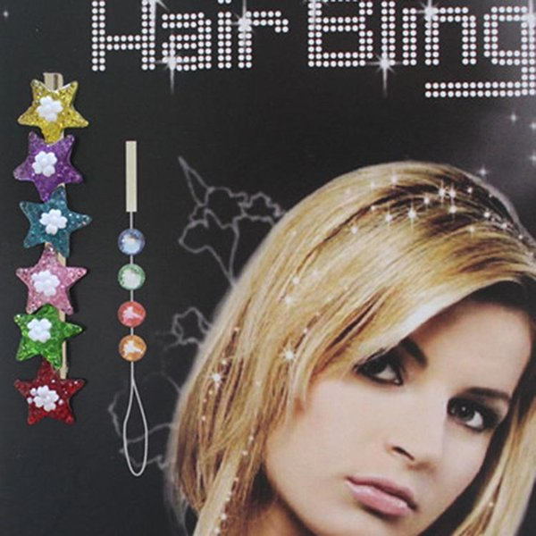 Chaton Diamond Crystal Swirl Spiral Hair Pin Clip Bling