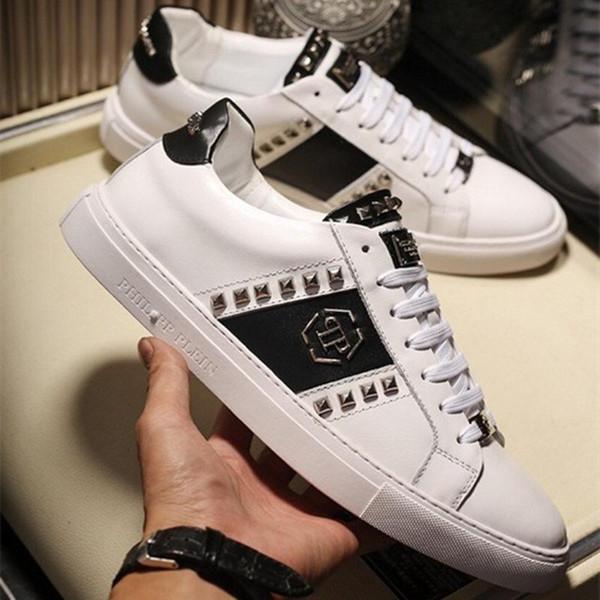 Las mejores mujeres de moda al por mayor para hombre zapatos de diseñador de zapatillas de deporte de lujo de la marca de fábrica del remiendo del vestido de moda zapatillas de deporte casuales