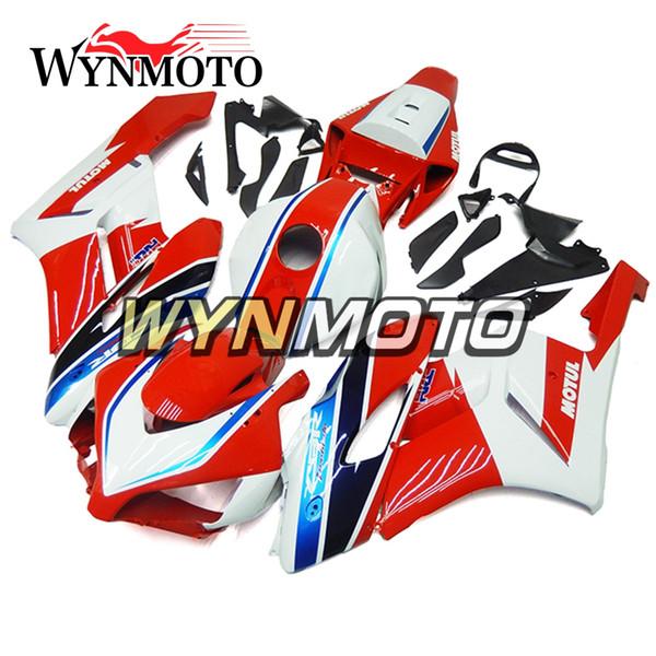 New Full Motorcycle Injection ABS Plastic Body Kit For Honda CBR1000RR 2004 2005 CBR 1000RR 04 05 Fairing Kit White Red Blue Hull Best Sell