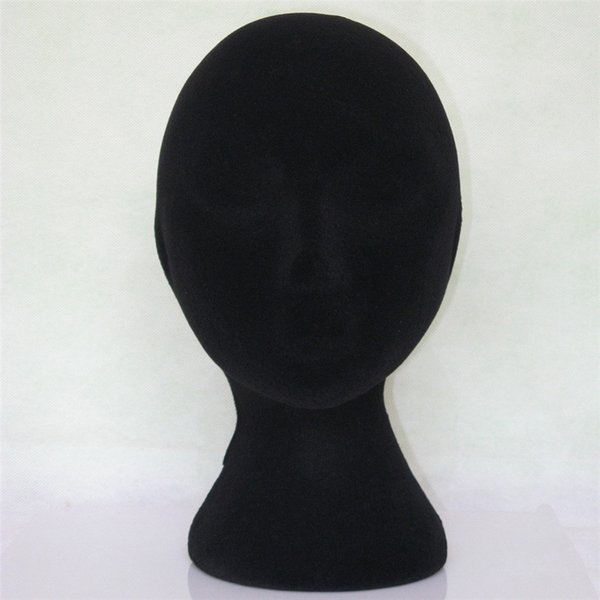 New Brand 1PC Wig Stand Female Styrofoam Foam Flocking Head Model Wig Glasses Display Stand Pretty High Quality