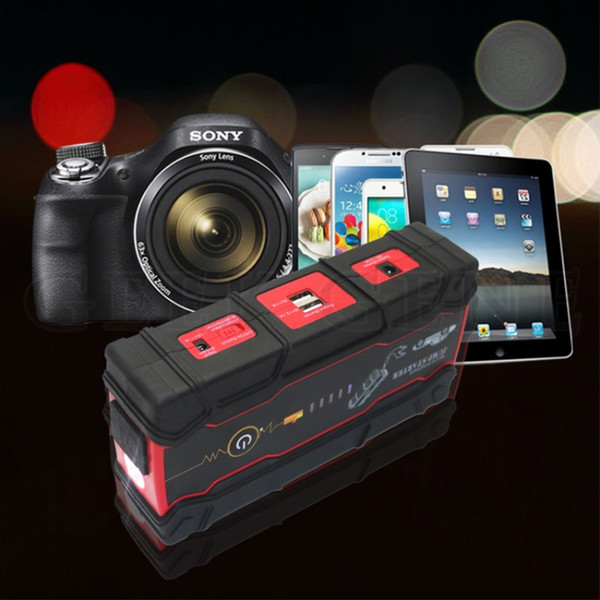 Car Jump Starter Power Bank 18000mAh Petrol Diesel Auto Starting Device 12V 800A Peak Car Charger For Battery Buster