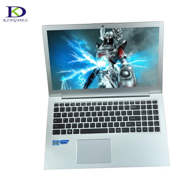 Teclado retroiluminado Bluetooth WIFI Ultrabook 15.6 pulgadas Intel Core i7 6500U Intel HD gráficos 520 8G RAM 256G SSD 1TB HDD Ordenador portátil