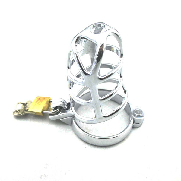 Mesh Alloy cock cage of male Chastity Device for men cock ring BDSM toy
