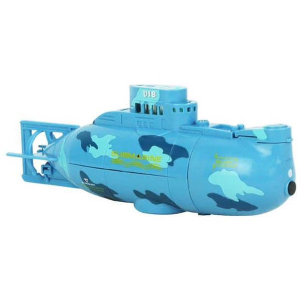 Wholesale- 2017 Chamsgend RC Water Boat 6CH Speedboat Model High Powered 3.7V Toy Boat Plastic Model Large RC Submarine Outdoor Toys Y7811