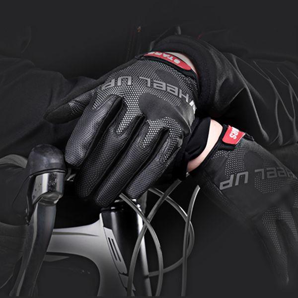Stoßfest Fahrrad handschuhe Schutz Fahrrad Rennrad Outdoor Sport Zubehör