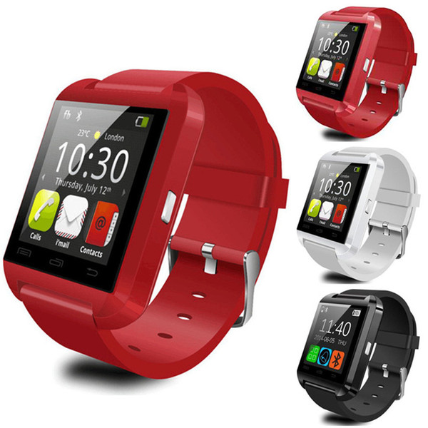 U8 Bluetooth Smartwatch Sport Health Fitness Bracelet Passometer Sleeping Monitor Wristband Smart Watch for iPhone 7 Samsung Android Phone