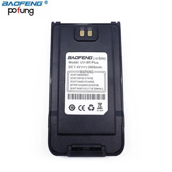 Baofeng Walkie Talkie Accessory UV-9R Plus 2800mAh DC 7.4V Battery for Waterproof UV 9R Plus Portable CB Ham Two Way Radio
