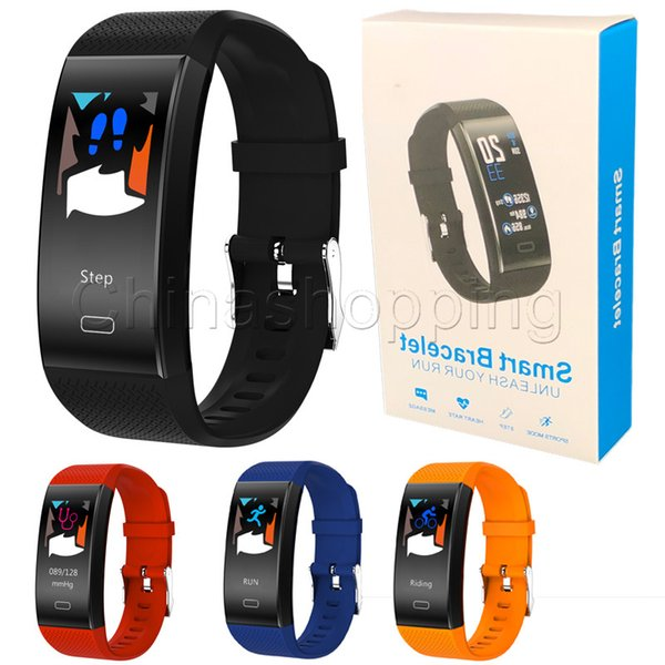 TF6 Smart watch Bracelets Fitness Tracker Step Counter Activity Monitor Band Alarm Clock Vibration Wristband for iphone Android phone