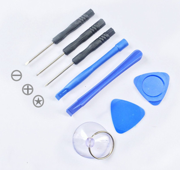 HOT Cell Phone Reparing tools 8 in 1 Repair Pry Kit Opening Tools Pentalobe Torx Slotted screwdriver For Apple iphone OTH259
